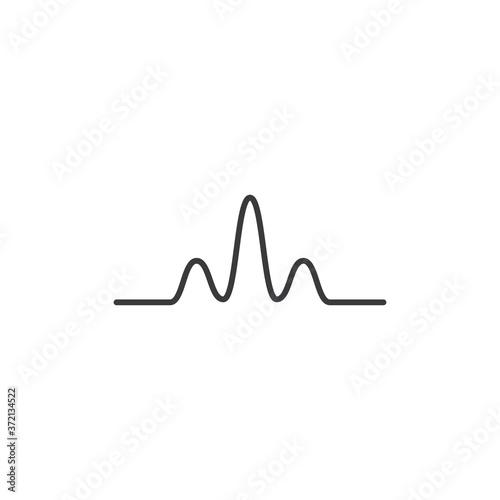 Fototapeta soundwave icon