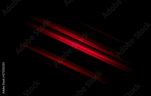 Fotografie, Obraz abstract red and black are light pattern with the gradient is the with floor wall metal texture soft tech diagonal background black dark sleek clean modern