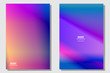 Professional multicolor Gradient Background with blurred style and trendy colorful for your banner web brochure business card id card and etc.