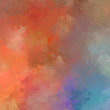 Strokes of paint. 2D Illustration. Brushed Painted Abstract Background. Brush stroked painting. Modern art.
