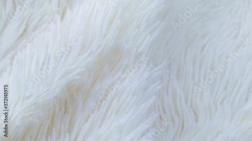 delicate soft background of plush fabric folds on white background Billede på lærred