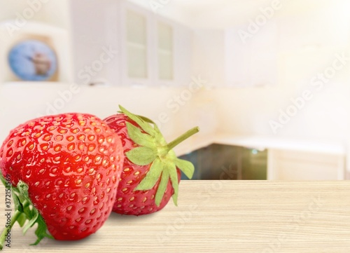 Fototapeta Strawberry.