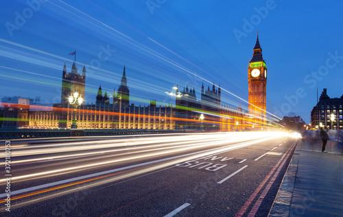 Photo Big Ben from Westminster Bridge, London