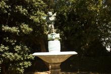 Monument In Greece. Sculpture, Statue. Rhodes Island. Summer Vacation. Euro-trip.
