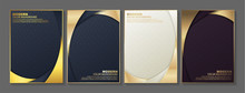 Minimal Cover In Gold. Vector ...
