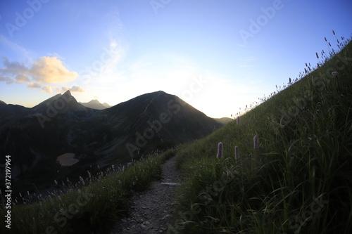 Fototapeta Rohacz Ostry i Wołowiec z Dziurawej Przełęczy obraz