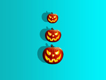 Halloween Glitter Pumpkin Jack...
