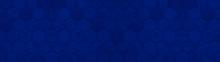 Abstract Dark Phantom Blue Sea...