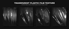 Transparent Plastic Film Textu...