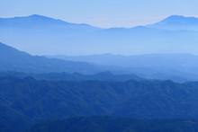中部山岳国立公園、秋...