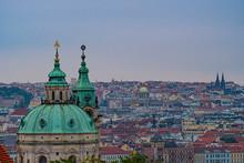 Panorama Tetti Di Praga, Cupol...