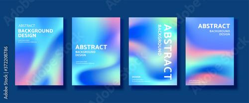 Fototapeta Holographic cover design obraz