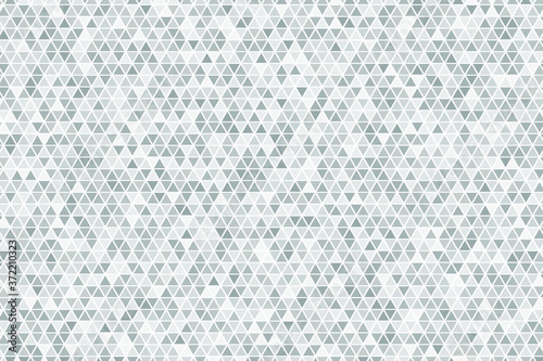 Fotografie, Obraz Triangular mosaic texture. Abstract polygonal background.