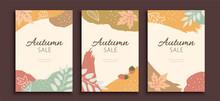 Autumn Foliage Cover Template
