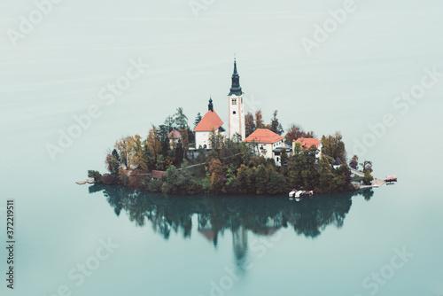Canvastavla Lake Bled, Slovenia