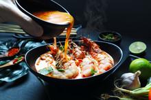 Tom Yam Kung Soup With Shrimp ...
