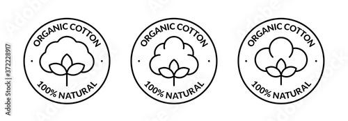 Fotografie, Obraz 100% Natural Organic Cotton Icon