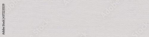 Fotografia Linen canvas background for your interior in classic white color