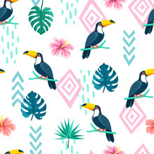 Tropical Birds And Plants, Tou...