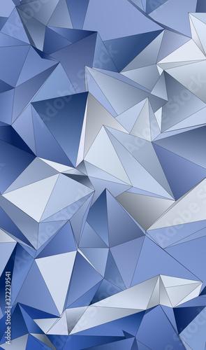 Okleiny na drzwi - przestrzenne 3D  abstract-low-poly-background-triangulated-texture-design-3d-polygonal-geometrical-pattern
