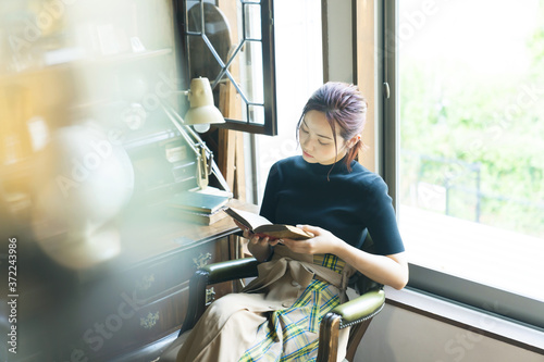 女性ポートレート ファッションイメージ Fototapet