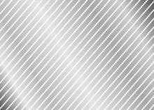 Silver Dot Line Pattern. Silve...