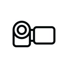 Handcam Isolated Icon, Handyca...