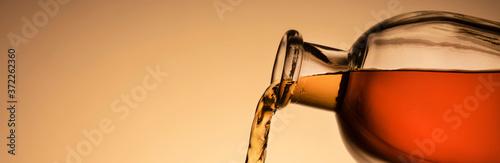 a bottle of whiskey, Bourbon, or liqueur Fototapet