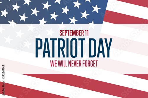 Fototapeta Patriot Day