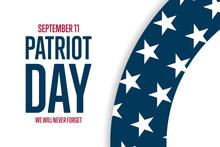 Patriot Day. September 11. Tem...
