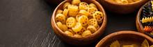 Raw Italian Rotelle Pasta In W...