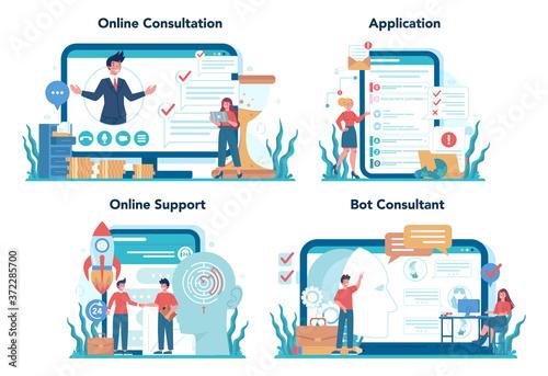 Canvastavla Consulting online service or platform set