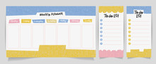 Cute Calendar Daily And Weekly...