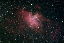 M16 The Eagle Nebula With The ...