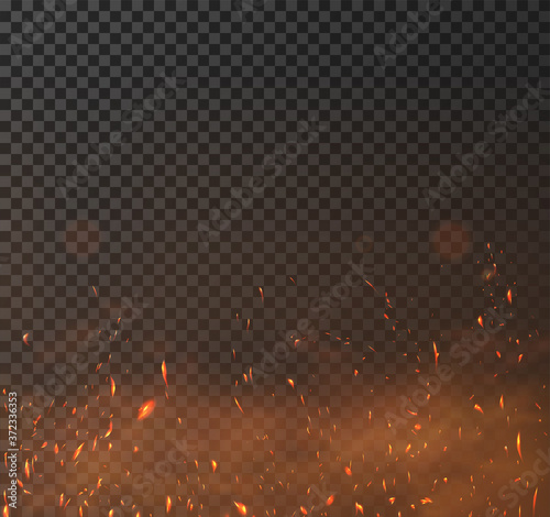 Sparkes vector effect Wallpaper Mural