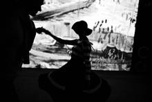 Anonymous People Dancing In Da...