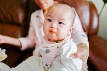 Portrait Of Cute Little Baby G...