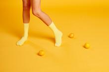 Yellow Socks & Mandarins