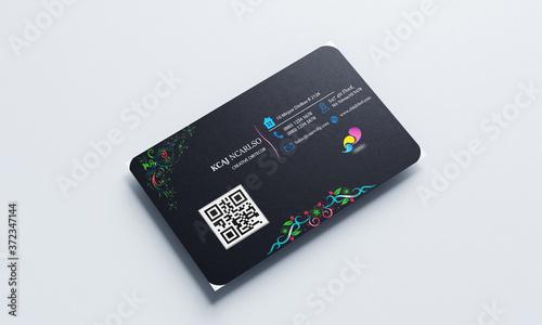Business Card Mockup, visiting card Fototapete