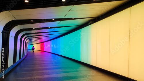 Fotografie, Obraz light in the tunnel