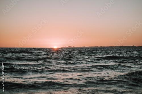 Fotomural Playa d ela calita en el puerto de santa maria