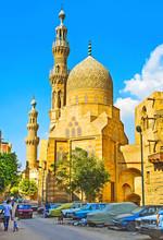 The Blue (Aqsunqur) Mosque, Cairo, Egypt