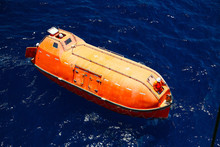 A Lifeboat Or Life Raft Carrie...
