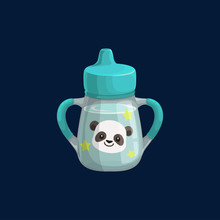 Baby Cup Bottle With Panda Bea...
