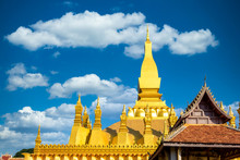 Pha That Luang Is Gold Large B...