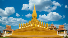Pha That Luang Is Gold Large B...
