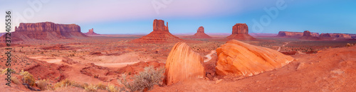 Fotografia, Obraz The unique nature landscape of Monument Valley in Utah