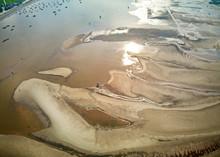 Beautiful Curves Of A Sandbank...