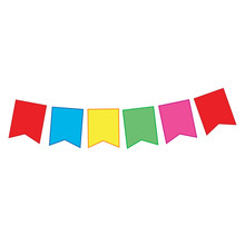 Nag Of Colored Flags, Garland,...