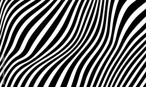 Minimal abstract black and white background Fototapet